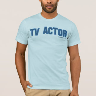 TV俳優 Tシャツ