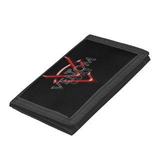 TVCのロゴのナイロン財布 ナイロン三つ折りウォレット