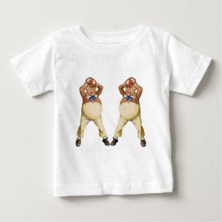 TweedledeeおよびTweedledum ベビーTシャツ