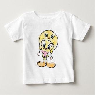 Tweetyの帽子 ベビーTシャツ
