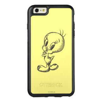 Tweetyの美しい黒いですか白 オッターボックスiPhone 6/6s Plusケース