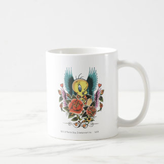 Tweetyの青の翼 コーヒーマグカップ