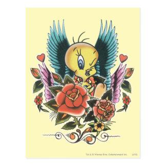 Tweetyの青の翼 ポストカード