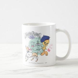 Tweetyパリ コーヒーマグカップ