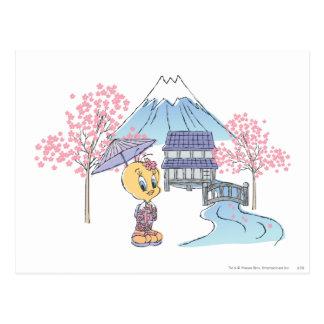 Tweety日本 ポストカード