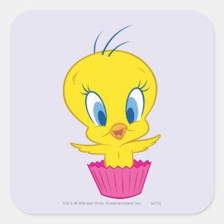TWEETY™のカップケーキ スクエアシール