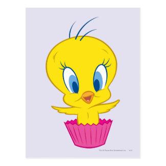 TWEETY™のカップケーキ ポストカード