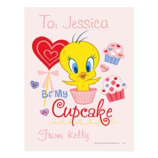 TWEETY™は私のカップケーキです ポストカード