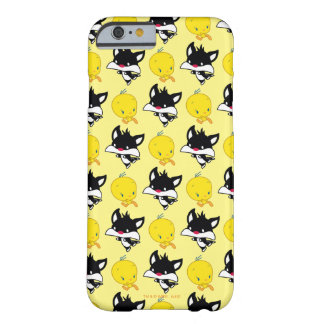 TWEETY™を追跡するチビ(小さくかわいく書いた感じ) SYLVESTER™ BARELY THERE iPhone 6 ケース