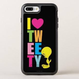 Tweety IのハートTweety オッターボックスシンメトリーiPhone 8 Plus/7 Plusケース
