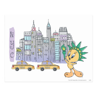 Tweety NYC ポストカード