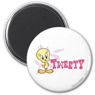 "Tweety ""Tweety""のピンク マグネット"