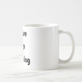 Twerkingをストップ コーヒーマグカップ