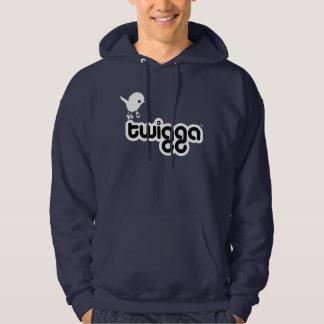 Twiggaのフード付きのスエットシャツ パーカ