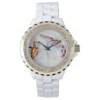 Twilight Dancers Hummingbird Print 腕時計