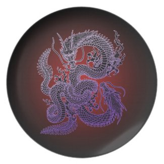 Twin-dragon(P) ディナー皿