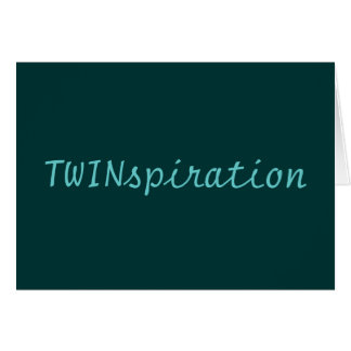 TWINspirationカードブランク カード