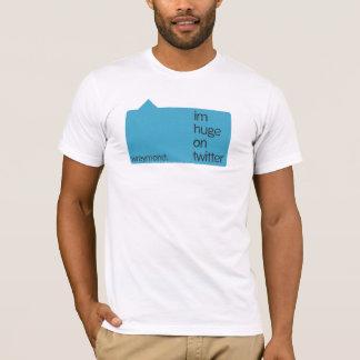 twitterで巨大なim tシャツ