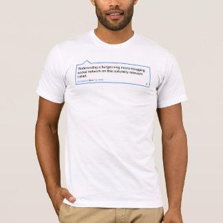 Twitterのティー Tシャツ