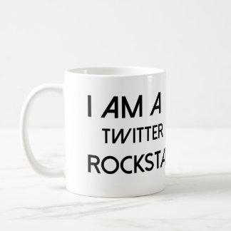 Twitterのロックスター コーヒーマグカップ