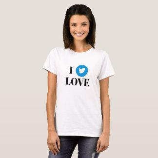 Twitterの基本的なTシャツ Tシャツ