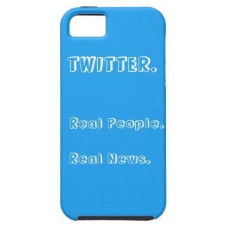 Twitterの実質の人々はニュースのIphone 5/5Sの場合を実在します iPhone SE/5/5s ケース