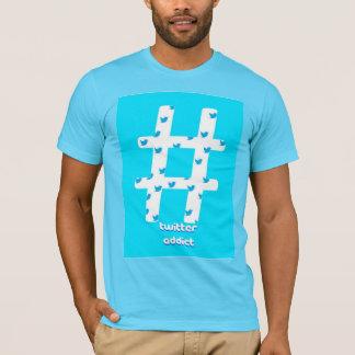 Twitterの常習者のTシャツ Tシャツ