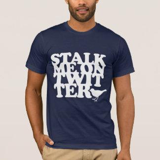 twitterの私につきまとって下さい tシャツ