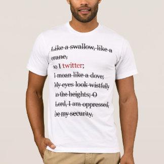 twitterの詩 tシャツ