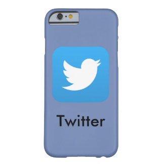 Twitterの電話箱 Barely There iPhone 6 ケース