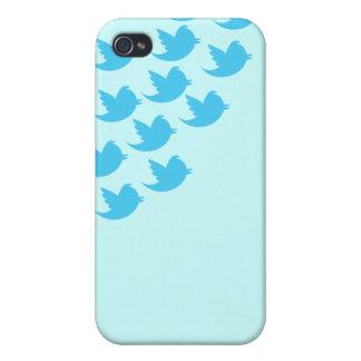 Twitterの鳥のiPhone 4のSpeckの場合 iPhone 4/4Sケース