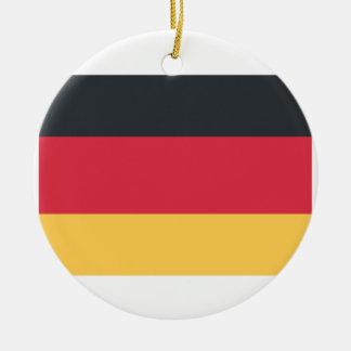 Twitterのemojiを使用してドイツ旗 セラミックオーナメント