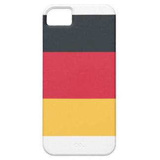Twitterのemojiを使用してドイツ旗 iPhone SE/5/5s ケース