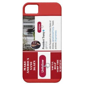 TwitterのUnfollowの切札の電話箱 iPhone SE/5/5s ケース