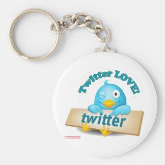 Twitter愛服装、ギフト及び収集品 キーホルダー