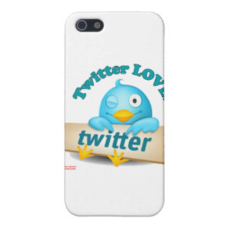 Twitter愛服装、ギフト及び収集品 iPhone 5 Cover