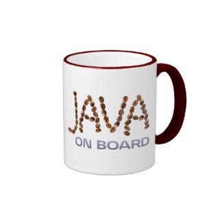 Two-Sided Java On Board Mug Ringer Mug