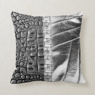 TwoTonedの金属革ラインストーンの枕セット クッション