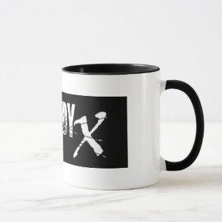 TXによって壊されるロゴのコーヒー・マグ2 マグカップ