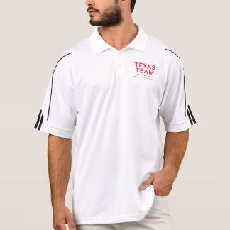 TXのチーム-男性アディダスClimaLite®のポロシャツ ポロシャツ