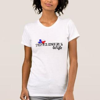 TXのパイプラインの妻 Tシャツ