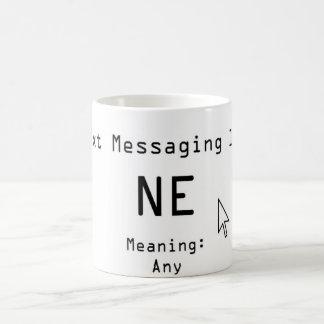 Txt|メッセージ|101 コーヒーマグカップ