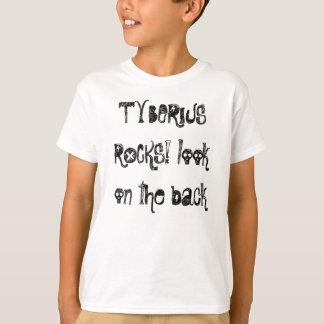 tyberiusの石 tシャツ