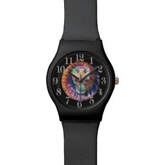 Tyeの染料のスカル 腕時計