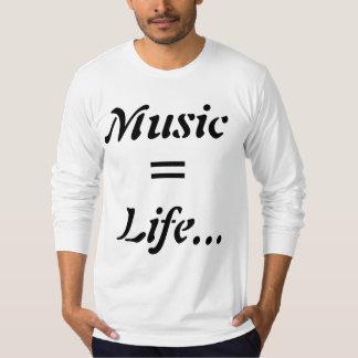 Tyler Stam -音楽、=、生命… Tシャツ