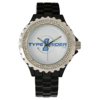 Type1RiderのロゴのeWatchの工場腕時計 腕時計