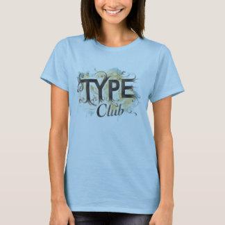 TypeClub - Joey Faccio Tシャツ