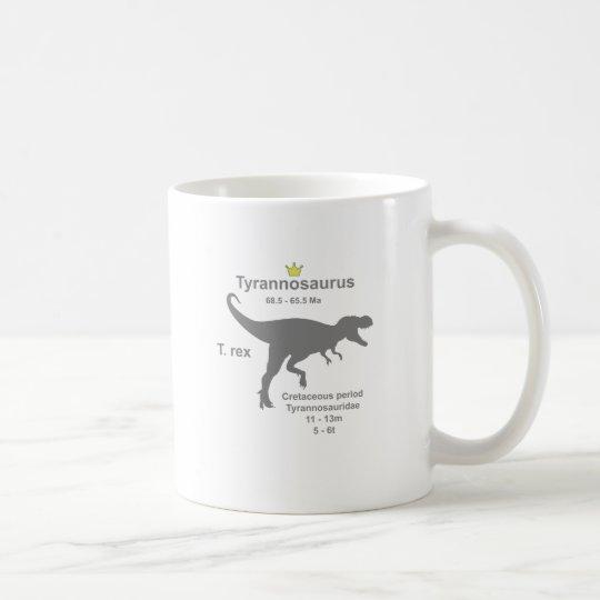 Tyrannosaurus g5 コーヒーマグカップ