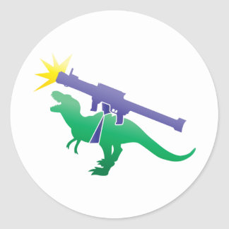 Tyranosaurのロケット発射装置 ラウンドシール