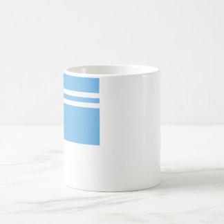 Tyva共和国の旗 コーヒーマグカップ